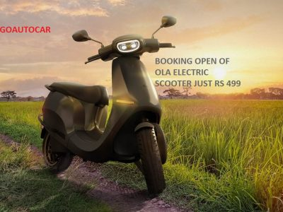 Ola Electric booking at just Rs 499