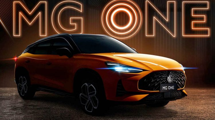 MG One Suv will debut on 30 july ;